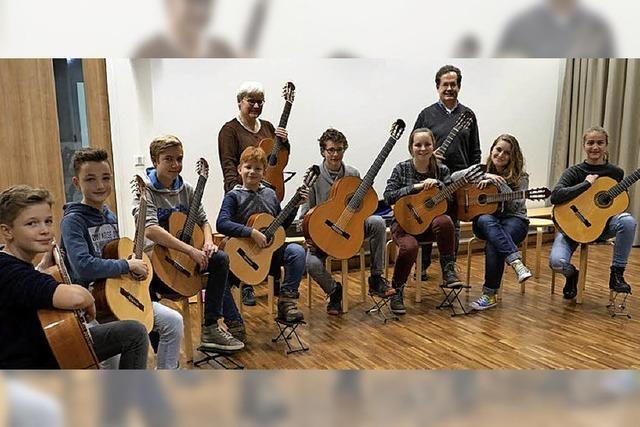 Voller Klang im Ensemble