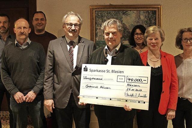 Förderverein sammelt 40 000 Euro