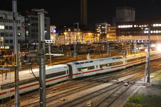 Immer noch Einschränkungen im Basler Zugverkehr