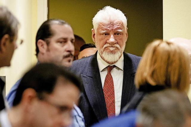 Verurteilter General Praljak schluckt vor laufender Kamera wohl Gift