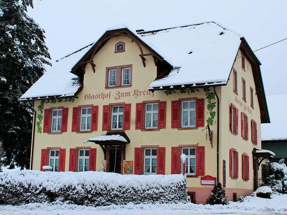 Der Gasthof Zum Kreuz in St. Peter geht an neue Besitzer über.  | Foto: Erich Krieger