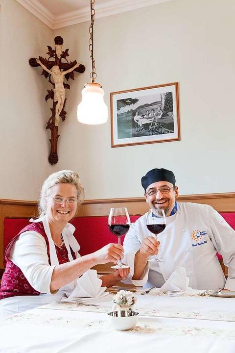 Barbara Rombach und Frank Rombach-Hekele ziehen sich aus der Gastronomie zurück.  | Foto: Privat