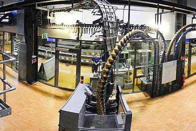 360-Grad-Video: So wird die Badische Zeitung gedruckt