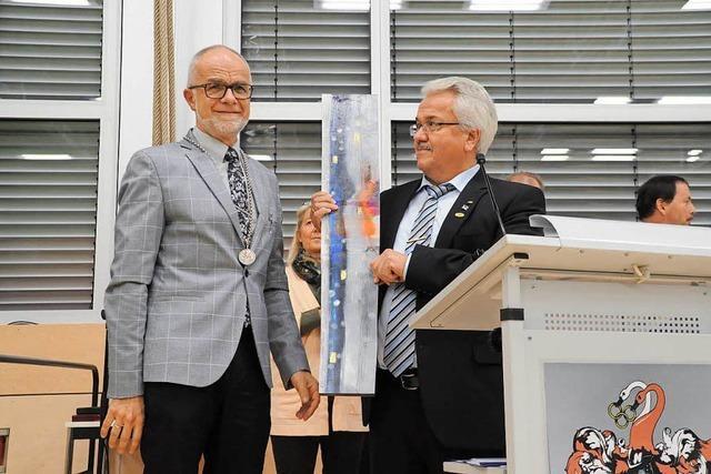Zells Bürgermeister Rümmele mit