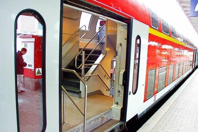 Sex auf der Zugtoilette sorgt für Streit in Haslach im Kinzigtal