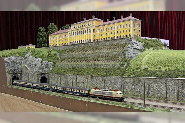 Eisenbahnfreunde Breisgau stellen in Neuenburg aus