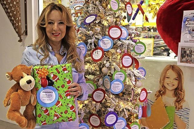 Geschenke für bedürftige Kinder