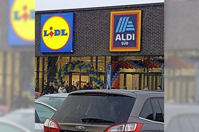 Ein neues Einkaufszentrum