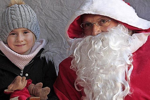 Wehr feiert großen Nikolausmarkt