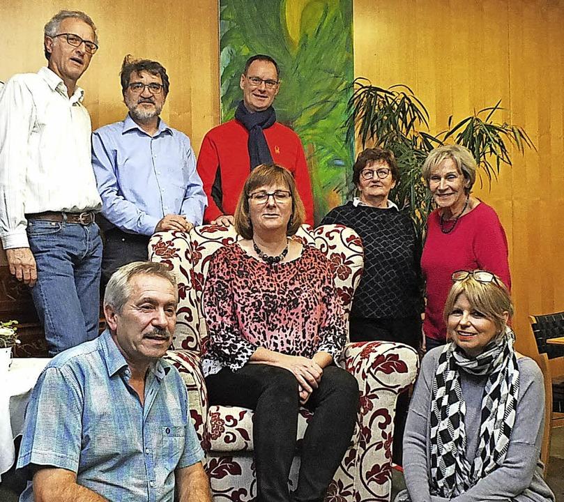 Auf dem Chefinnen-Sofa von Kunst und K...upert Saumweber und Hans-Günter Wenk.   | Foto: Martina David-Wenk