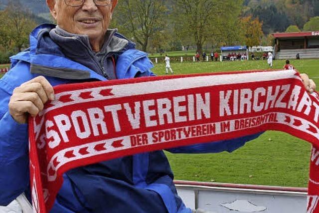 Hinter dem Tor des Sportverein Kirchzarten geht nichts ohne Ehrenamtliche