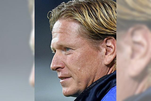 """HSV-Coach Gisdol: """"Weniger reden und einfach mal abliefern"""""""