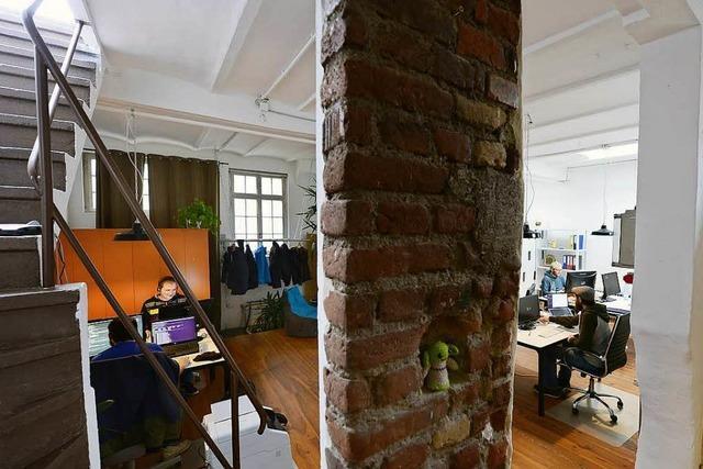 Wo Freiberufler in Freiburg unter einem Dach arbeiten