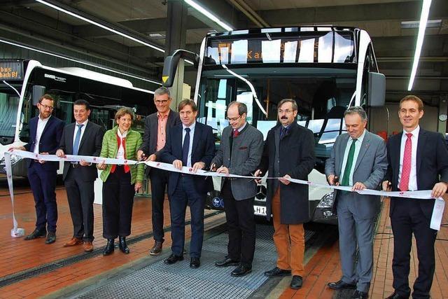 Die Buslinie zwischen Lörrach und Kandern heißt