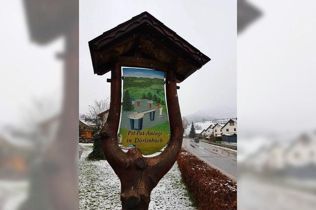 Der Kiosk in Dörlinbach bleibt im Winter dicht