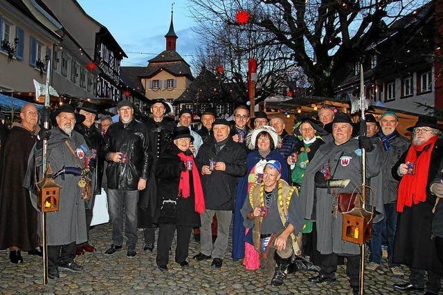Der 24. Vogtsburger Weihnachtsmarkt ist eröffnet