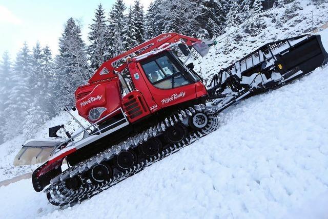 Der Schnee reicht satt