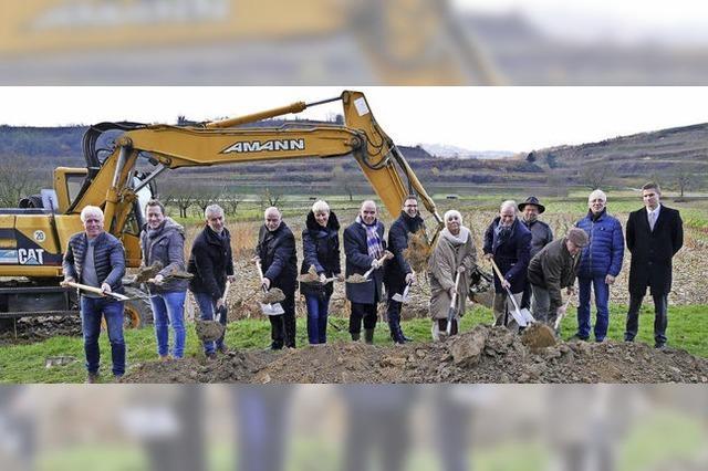 Startschuss für das neue Baugebiet