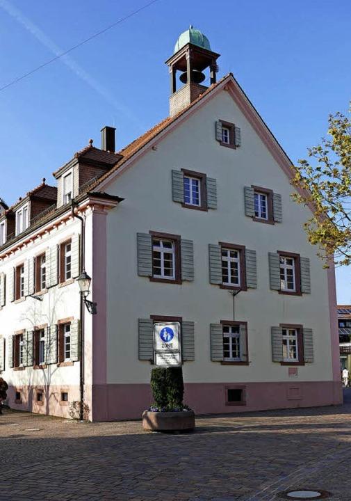 Das Alte Rathaus in Kirchzarten   | Foto: Donner/Gemeindearchiv Kirchzarten
