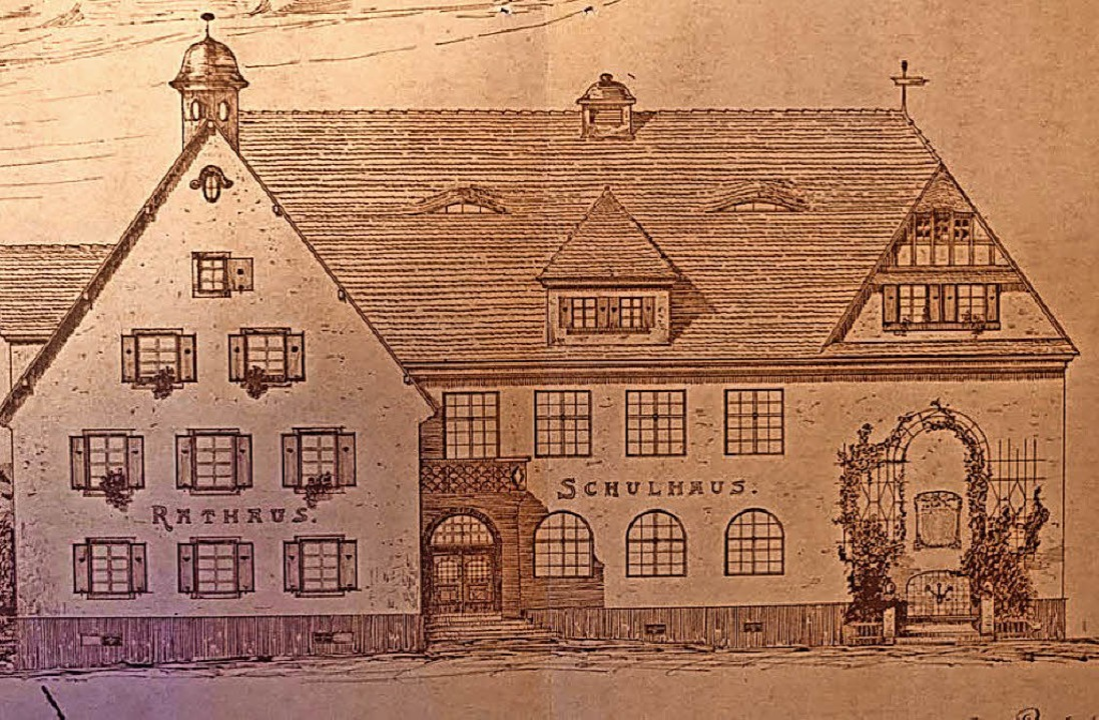 Projektstudie zum Umbau des gemeinsame...ember 1916 abgerissene Balserhäuschen.  | Foto: Architekten