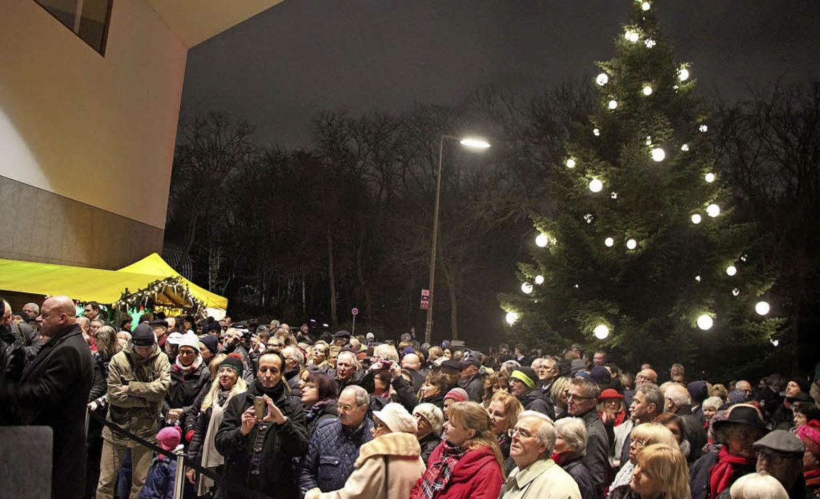 Weihnachtsbaum Berlin.Der Weihnachtsbaum Begeistert Berlin Waldkirch Badische Zeitung