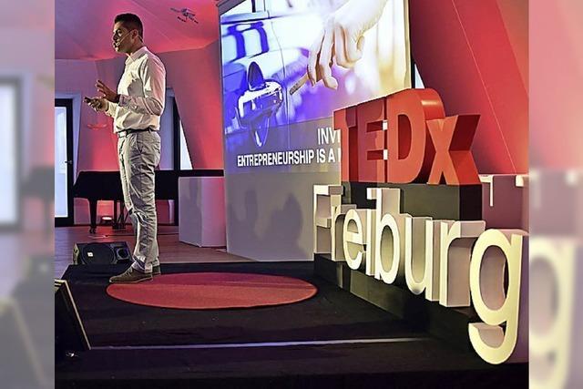 BADISCHE-ZEITUNG.DE: Tedx Freiburg Live