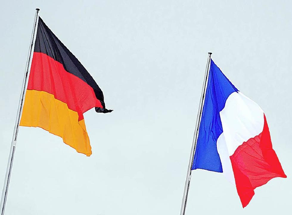 Diplomatie mal anders: Drei deutsche B...er suchen den Dialog über die Grenze.     Foto: dpa