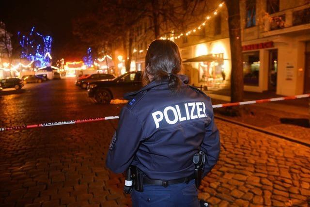 Polizei findet Spreng- oder Brandsatz in Potsdamer Innenstadt