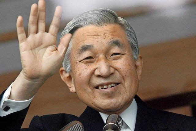 Kaiser Akihito räumt 2019 den Thron