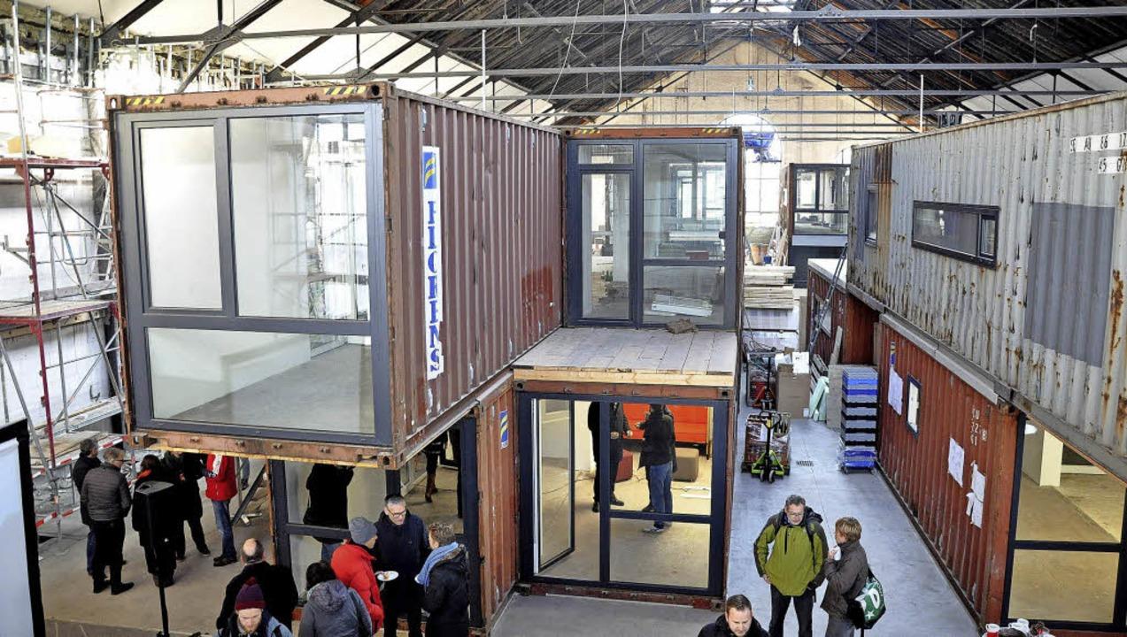 Die künftigen Arbeitsplätze für Start-... Lounge bis Laserdrucker, soll folgen.    Foto:  jki