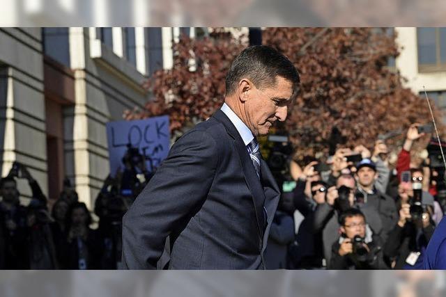 Flynn will auspacken