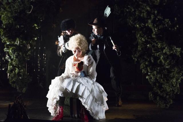 Musiktheater für Kinder: Rütlischwur im finstren Wald
