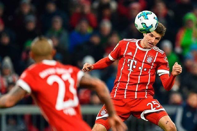 Gelungenes Comeback von Thomas Müller für die Bayern