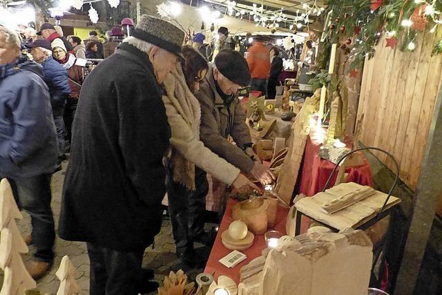 Ein Weihnachtsmarkt wie ein großes Wohnzimmer