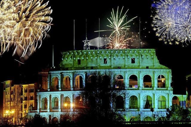 Im Europa-Park Dome geht am letzten Abend des Jahres rund