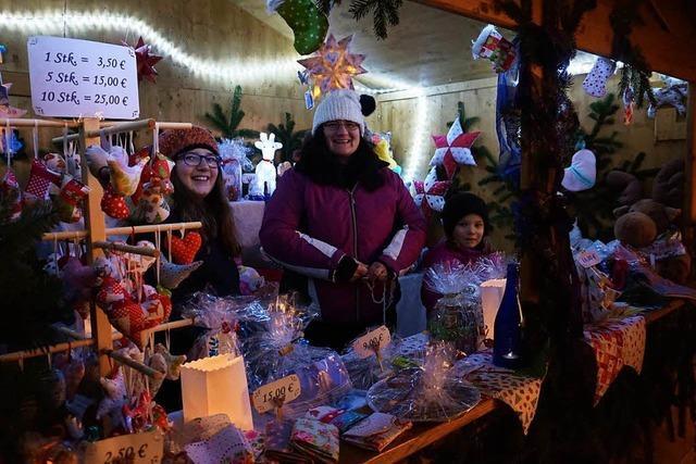 Adventsmärkte auf dem Neutorplatz waren gut besucht
