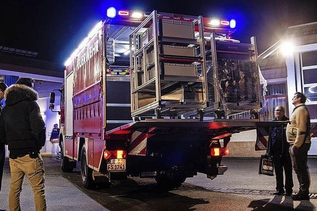 Seelbacher Feuerwehr rückt öfter aus