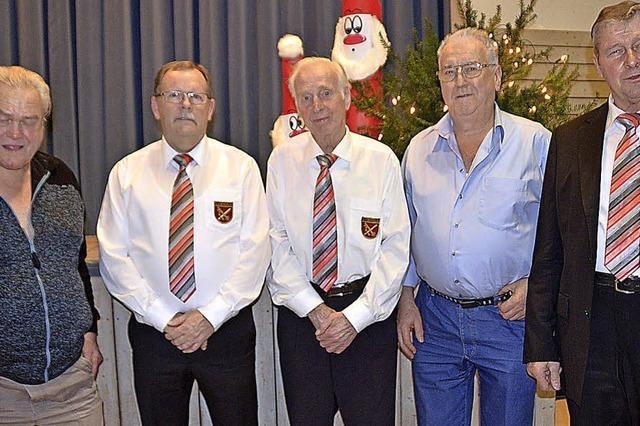 Gesangverein ehrt treue Mitglieder