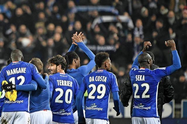 Ausgerechnet Racing Straßburg beendet die Siegesserie von Paris Saint-Germain
