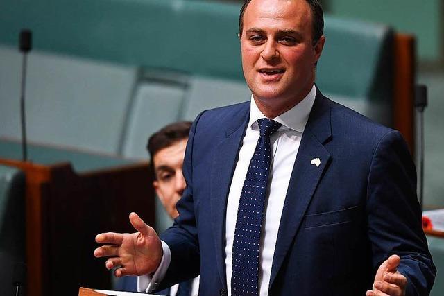 Australischer Abgeordneter macht Antrag im Parlament