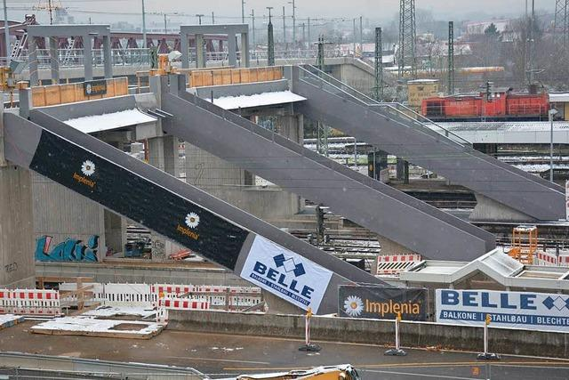 Bahnsteigzugänge sind nun komplett