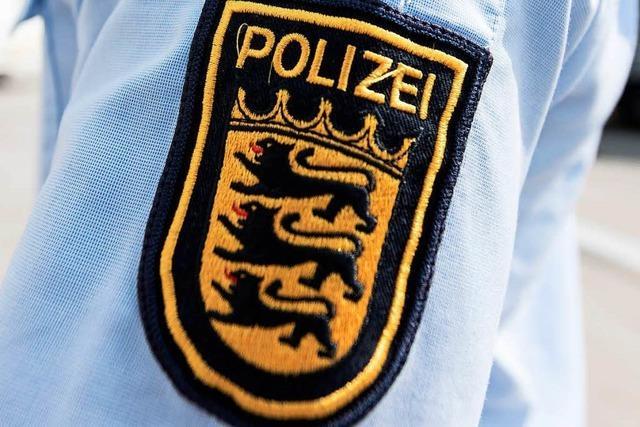 Bekiffter Basler Ballerino tanzt für Lörracher Polizisten