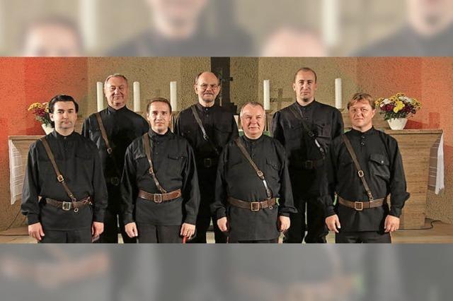 Maxim Kowalew und die Don Kosaken in Emmendingen-Windenreute