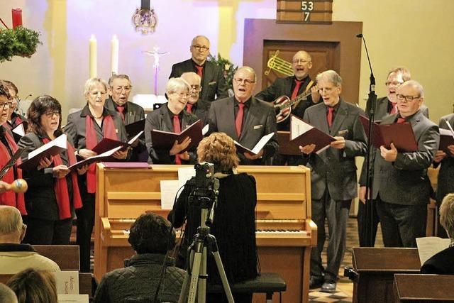 Premiere in der Kirche