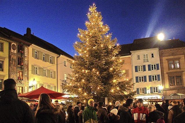 Bald ist Weihnachtsmarkt