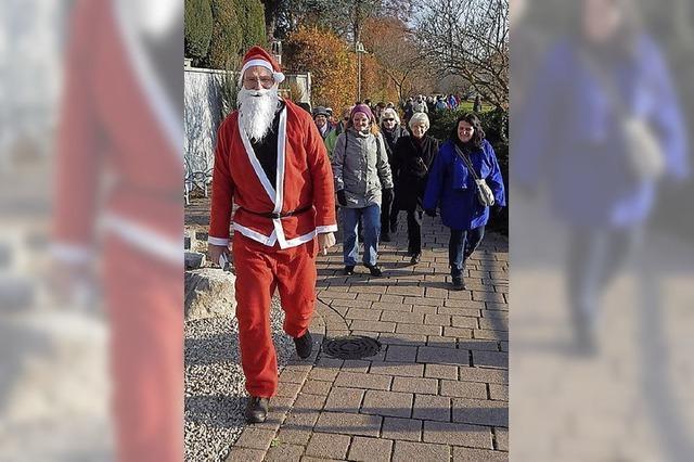 Mit dem Nikolaus auf Tour
