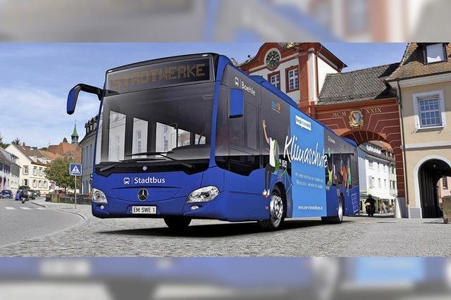 Künftig fährt der Bus auch sonntags