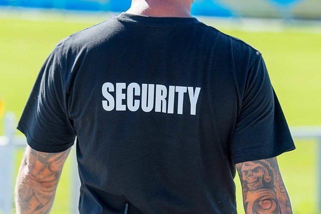 Wer sorgt bei Festen von Vereinen für die Sicherheit?