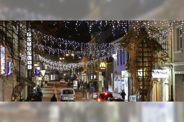 Weihnachtsstimmung in der Innenstadt