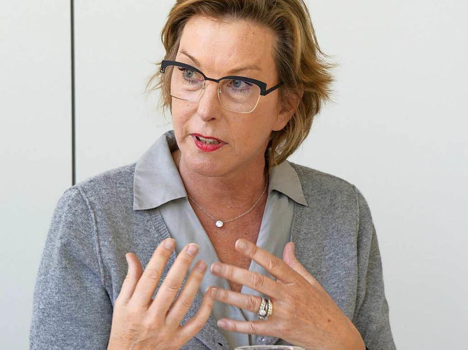 Katharina Ganter-Fraschetti.  | Foto: Ingo Schneider